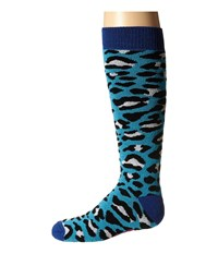 Bula Socks Kids Zoo Big Kid Leopard Women's Crew Cut Socks Shoes Animal Print