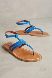 Anthropologie K. Jacques Lydia Sandals Blue