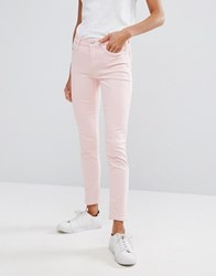 Mango Skinny Jeans Pale Pink