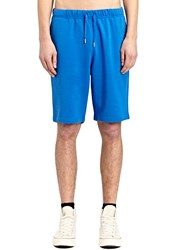 Sunspel Loopback Shorts Blue