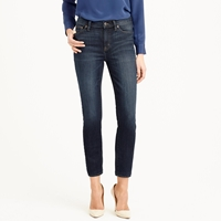 J.Crew Lookout High Rise Crop Jean In Parker Wash