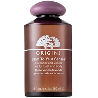 Origins Calm To Your Sensestm Lavender And Vanilla Oil For Bath And Body
