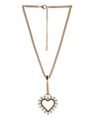 Bcbgeneration Keys To My Heart Crystal Heart Y Necklace Rose Gold