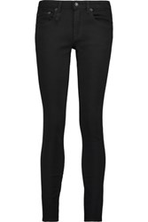 R 13 R13 Alison Mid Rise Skinny Jeans Black