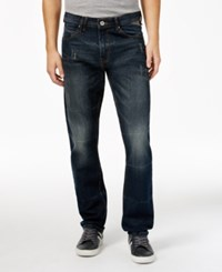 Sean John Men's Seamed Flap Pocket Jeans Industrial