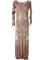 Jean Paul Gaultier Vintage 'Cyberbaba' Dress Brown