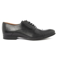 Menlook Label Maple Black Derby Shoes