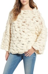 For Love And Lemons Women's Mademoiselle Wool Blend Sweater