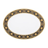 Versace I Love Baroque Platter Black