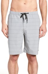 Quiksilver Waterman Collection Suva Amphibian Hybrid Shorts Steeple Gray