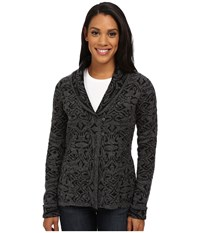 Royal Robbins Autumn Rose Cardigan Jet Black Women's Sweater