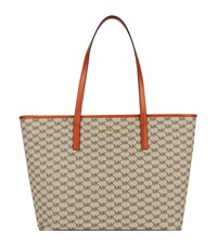 Michael Michael Kors Large Emry Top Zip Tote Female Orange