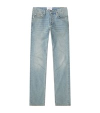 Sandro Pixies Washed Slim Jeans Male Blue