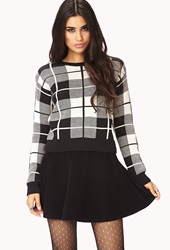 Forever 21 Throwback Corduroy Skater Skirt Black