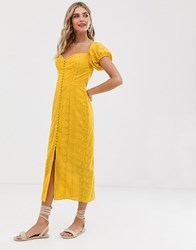 Finders Keepers Elle Dress Yellow