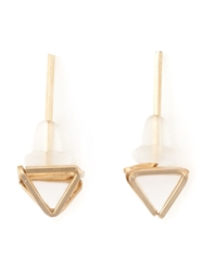 By Boe 'Pyramid' Stud Earrings