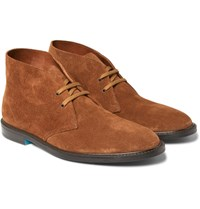 Paul Smith Alec Suede Desert Boots Brown