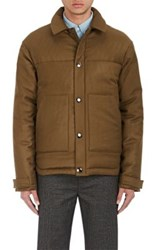 Acne Studios Men's Mountain Puffer Jacket Dark Green