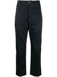 Haikure Slim Fit Trousers Blue