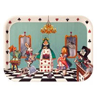 Avenida Home Louise Kirk Alice In Wonderland Tray Court Of Hearts