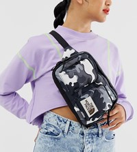 The North Face Kanga Bum Bag In Psychedelic Black