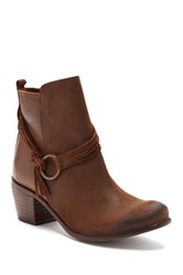 Sixtyseven Bailey Heeled Ankle Bootie Brown