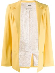 Zadig And Voltaire Volly Blazer Yellow