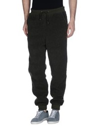 Cheap Monday Casual Pants Military Green