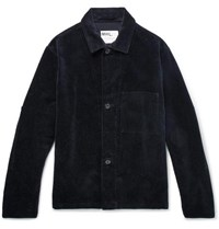 Margaret Howell Mhl Cotton Corduroy Jacket Navy