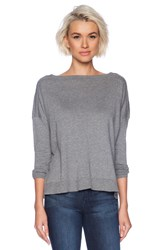 Bobi Pullover Sweater Gray