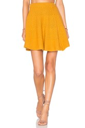 Lovers Friends Be Flirty Skirt Yellow