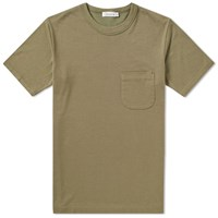 Nanamica Coolmax French Terry Tee Green