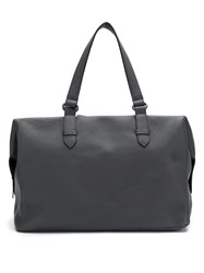 Mara Mac Leather Tote Grey