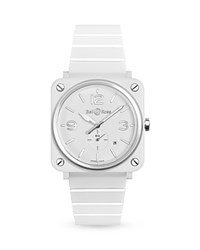 Bell And Ross Br S White Ceramic Watch 39Mm