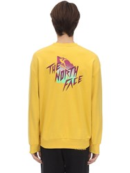 The North Face Masters Of Stone Sweatshirt Bamboo Yellow