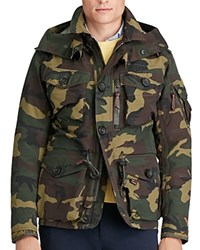 Polo Ralph Lauren Camouflage Hooded Utility Jacket Camo Print