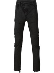 11 By Boris Bidjan Saberi Applique Skinny Trousers