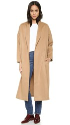 Ayr The Robe Coat Camel