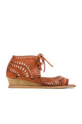 Jeffrey Campbell Rodillo Sandal Burnt Orange