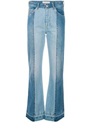 Golden Goose Deluxe Brand Flared Jeans Blue