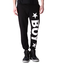 Boy London Jogging Bottoms With White Logo Black