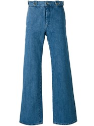 Editions M.R Straight Jeans Men Cotton 48 Blue