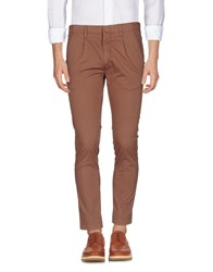 2W2m Casual Pants Cocoa
