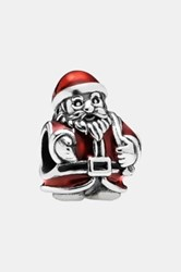 Pandora Design '12 Days Of Christmas Day 11 St. Nick' Bead Charm Metallic