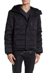 Zadig And Voltaire Monk Hooded Quilted Jacket Black