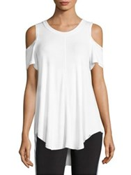 Vimmia Serenity Cold Shoulder Tee White