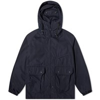 Engineered Garments Poplin Atlantic Parka Blue