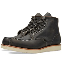 Red Wing Shoes Red Wing 8890 Heritage Work 6' Moc Toe Boot Charcoal Rough And Tough