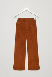 Cos Relaxed Corduroy Trousers Orange