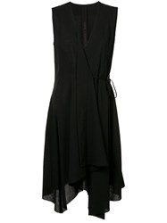 Forme D'expression Jama Wrap Dress Women Wool 38 Black